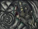 Dark tread the web in my head by JoeEyeMonster