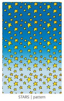 Cartoon Stars pattern