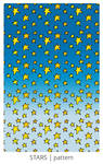 Cartoon Stars pattern