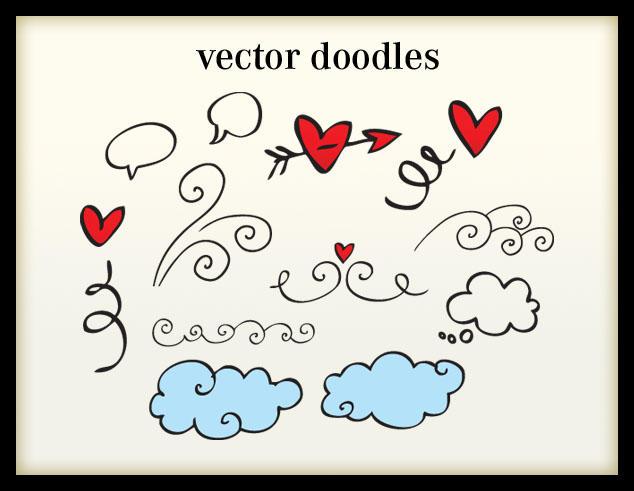 Vector Doodles by arwenita