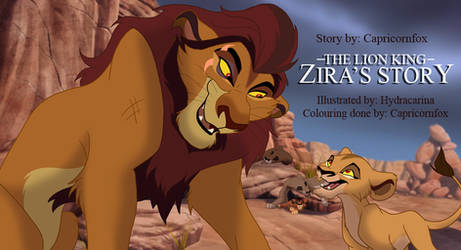 Coming Soon: Zira's Story