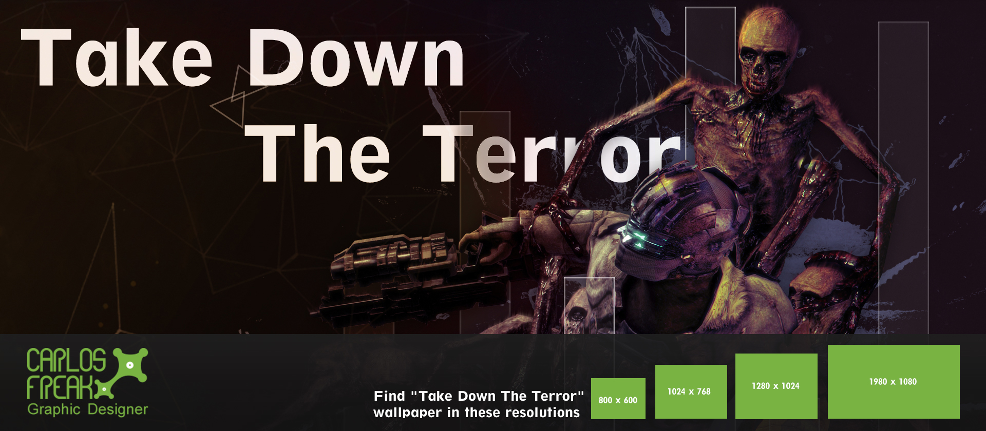 take down the terror wallpaper by stand87 on deviantart