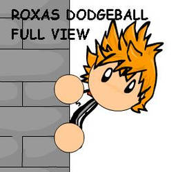 Roxas Dodgeball by LadyOCloud7