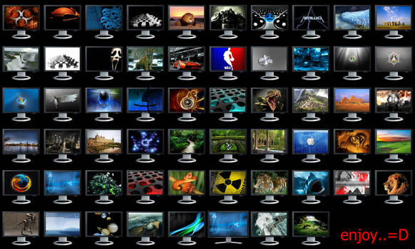 My Pc 58 Pack Icons