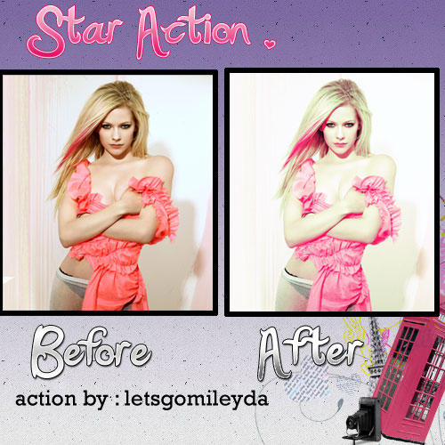 Star Action by Letsgomiley