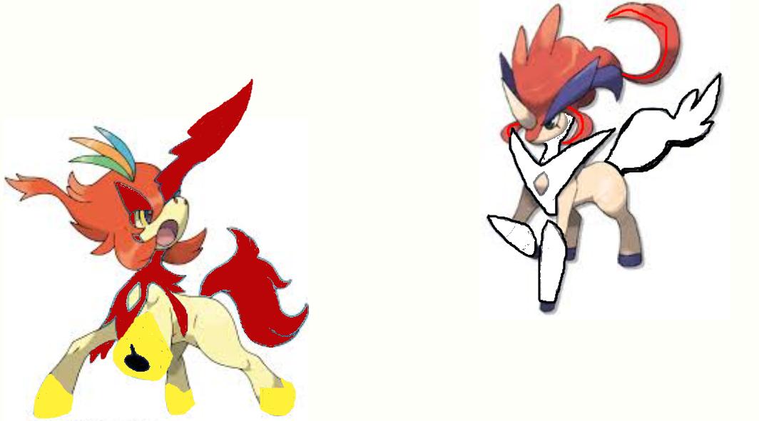 Perfect Nazo vs  Keldeo Mega Evolution