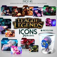 34 Icons - League of Legends