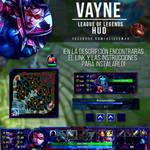 League of Legends HUD - Vayne