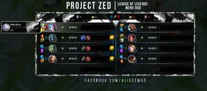 League of Legends Menu HUD - Project Zed
