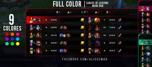 League of Legends Menu HUD - Full Color by AliceeMad