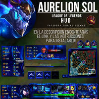 League of Legends HUD - Aurelion Sol by AliceeMad