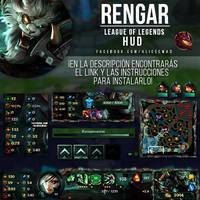 League of Legends HUD - Rengar by AliceeMad