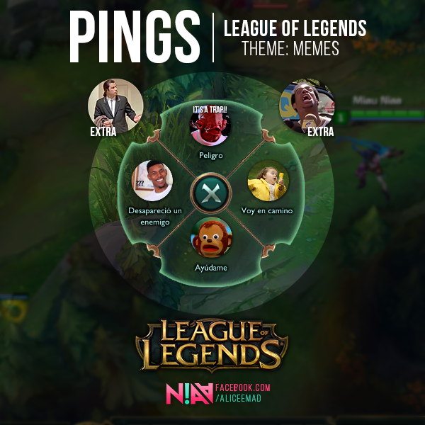 League of Legends Pings , Memes by AliceeMad