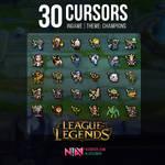 30 Champion Cursors Ingame #2 - League of Legends