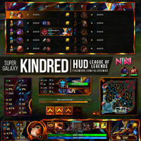 Super Galaxy Kindred HUD - League of Legends by AliceeMad