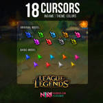Color Cursors Ingame  - League of Legends
