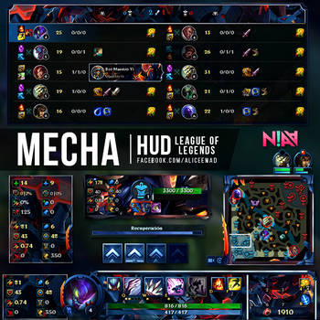 HUD on League-of-Overlays - DeviantArt