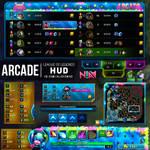 Arcade HUD - League of Legends
