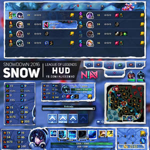 Snowdown HUD - League of Legends