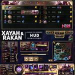 Xayah and Rakan HUD - League of Legends
