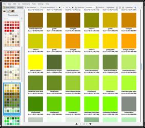 X11 Colours Booklet