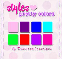 styles pretty colors