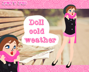 Cold weather doll