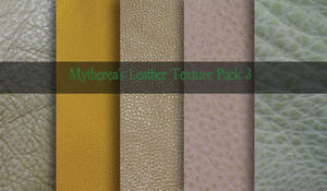 Leather Texture Pack 3