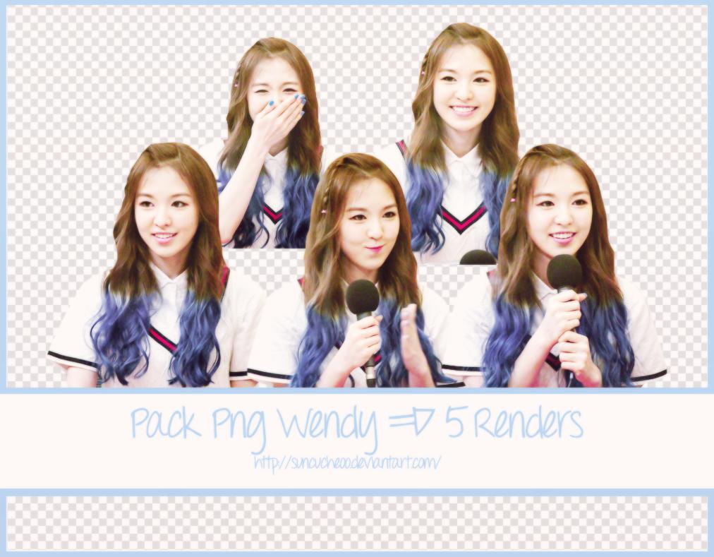 Pack Png Wendy Red Velvet 14 5 Render By Suncucheoo On Deviantart