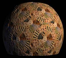 Ceramic Glaze Test Pattern by SpiralGraphic