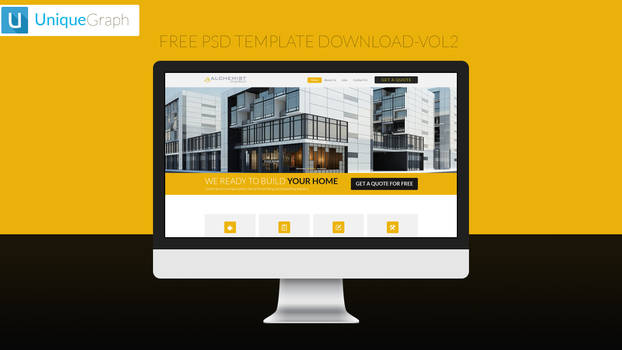 Free psd template download