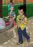 Dragon Ball Z:  Semblance by SwanofWar