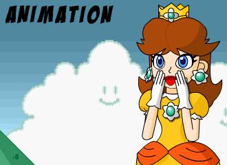 Mega Daisy animation by DekuDave5