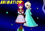 Rosalina and Princessa grow and grow