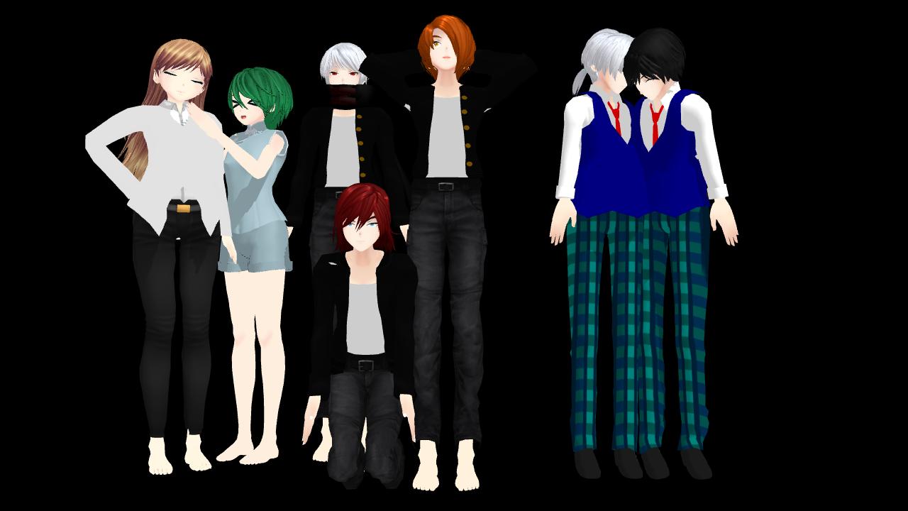 Oni Models Download By Agatsumasoubi20 On Deviantart