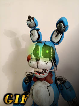 (Fazbear Ent. Storage) Withered Toy Bonnie figure