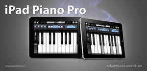iPad and Piano in Photoshop