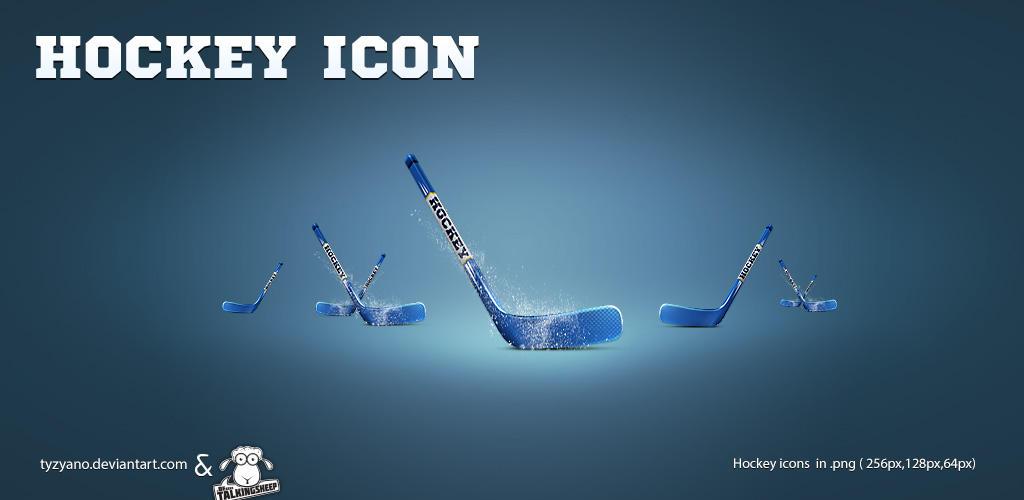 Hockey icons by Tyzyano