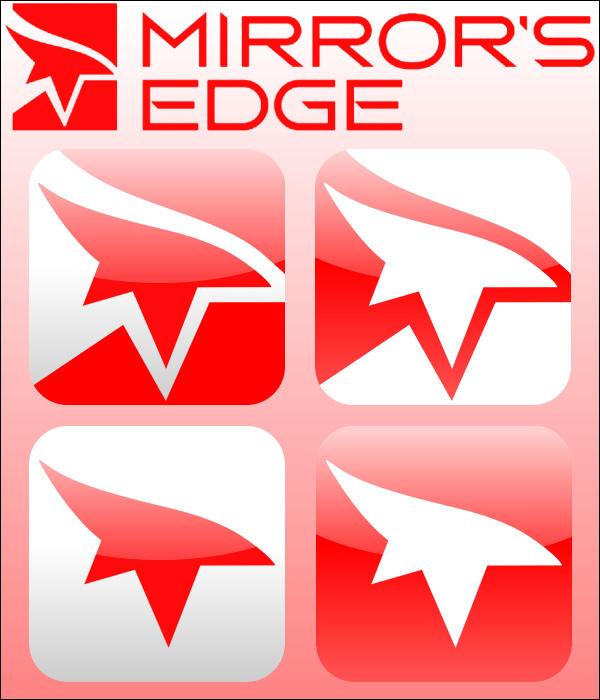 how to change icon mirrors edge
