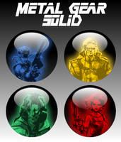 Metal Gear Solid Orbs by firba1