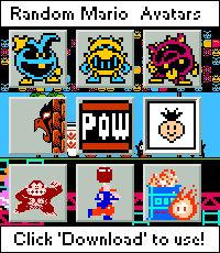 Random Mario Avatars