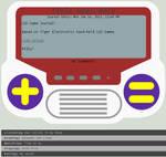 LCD Game Journal Skin