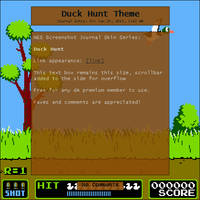 Duck Hunt Journal Skin by Retro-Specs