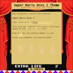 Super Mario Bros 2 Journal Skin