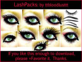 Eyelash and Brow by ttbloodlusttt