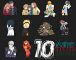 10 Anime Renders