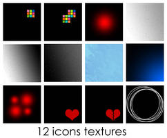 12 Icons Textures