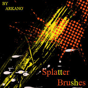 splatters brush pack