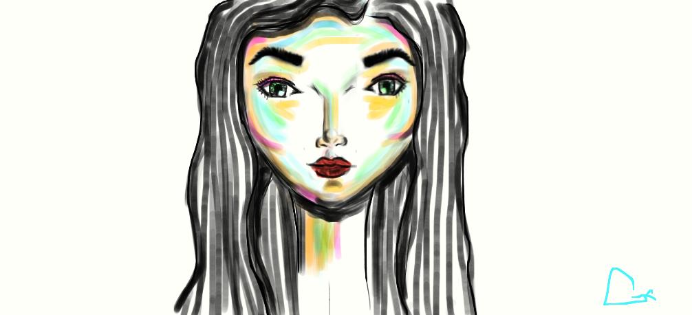 Untitled Drawing by redladygxm