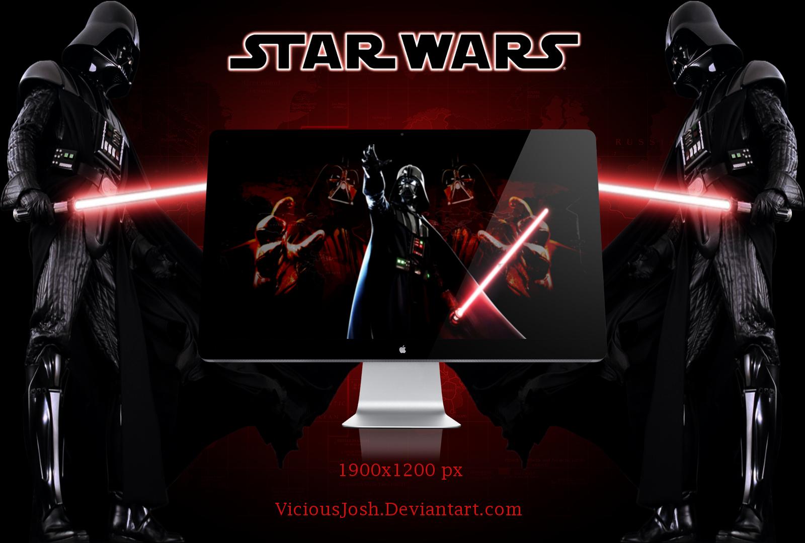 Star Wars Darth Vader Wallpaper By Viciousjosh On Deviantart